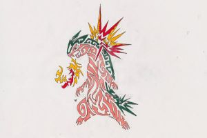 Typhlosion Tribal Tattoo 2 by Skrayle