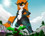 Giantess Draw - Midna by Colonel-Gabbo