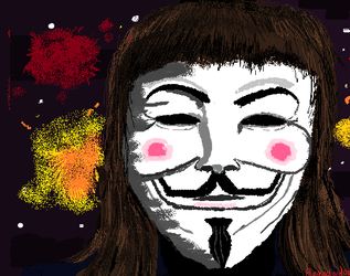 V For Vendetta by flamecloud123