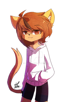 [Fursona]Harz (rule63) by OPHake