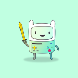BMO the Human by redtemplepilots