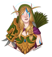 Alleria  by BreeAtWork