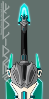Lineart Weapon Adopt Custom Color (closed)t by Nano-Core