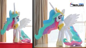 Celestia plush 3-3 by nekokevin