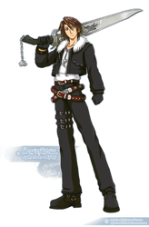 BR| Squall Leonhart by sphelon8565