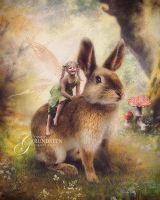 My Easter Bunny by CindysArt