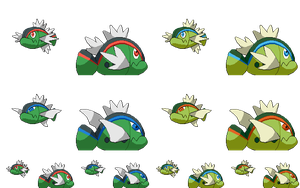 Basculin HD with alternate shiny