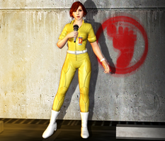April O'Neil Classic MeshMod Release! by jormunartserpent