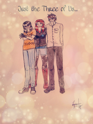 Just the Three of Us... by 08ArlyJ