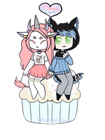 [cupcake] - Grim-Creeper by hello-planet-chan