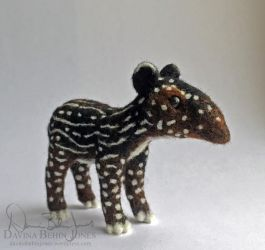 Another Baby Tapir by FamiliarOddlings