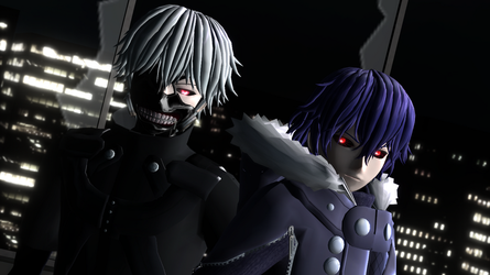 Kaneki and Ayato Models by hzeo