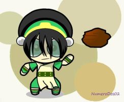 Toph Puff by NumeroDos02