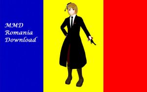 MMD Romania DOWNLOAD by Ringtail14