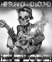 HB Surround Sound Album Cover/Tee Concept by Cameron-Schuyler