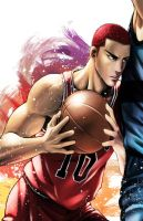 Sakuragi - Slam Dunk by Rowein