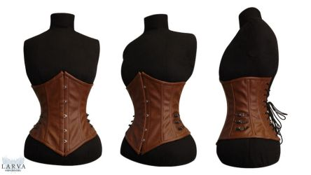 For SALE - Steampunk Corset Front by Larva by Eisfluegel