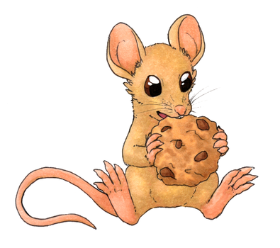 If you give a mouse a cookie by Houkou-NRL