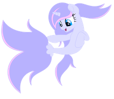 (Gift) Silver Swirls as Sea Pony (w/ Speedpaint) by Diamond-ChiVA