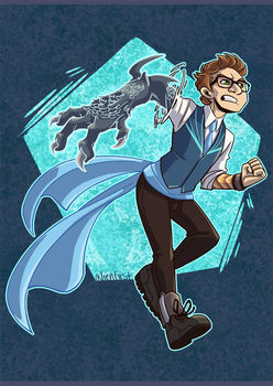 magica newt by alienfirst