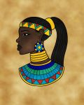 Itaweret in Egyptian Style by TyrannoNinja
