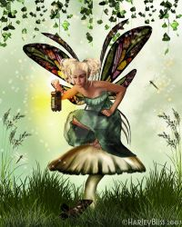 Who is she?  Shamrock Faerie by HarleyBliss