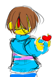 Genocide Frisk by Ineedaphone2005
