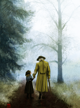 [Les Miserables] Through the woods by MadMoro