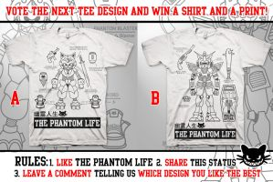Vote For a Design, Win a Free Shirt and Print! by ThePhantomLife