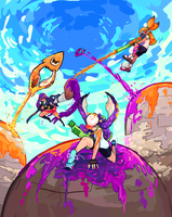 Splatoon Turf War by AbyssOkami