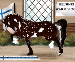 The Helsinki Warmblood Import ID 433 by LiaLithiumTM