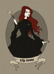 Lily Evans by Maria-Mysteria