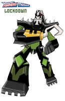 Transformers animated Lockdown by ninjha
