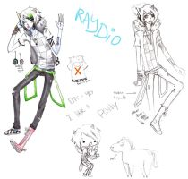 RAYDIO by Heather-Scribble