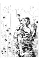 Diego Bernard: Bloodshot Cover by boysicat