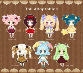 [CLOSED] REVERIE DOLL: Old Collection by QueenofReveries