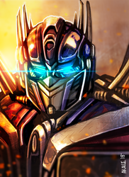 Optimus (test) by ForgottenHope547