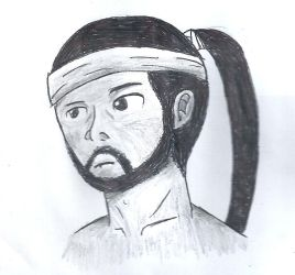 Hanzo Hasashi drawing by MinuanoGS