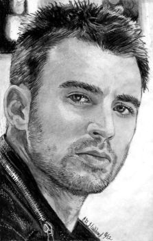 Chris Evans by Catluckey
