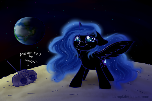But I don't wanna go to the moon...! by KlaraPL