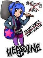 Ramona Flowers Badge by ScuttlebuttInk