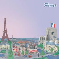 Paris by discogangsta