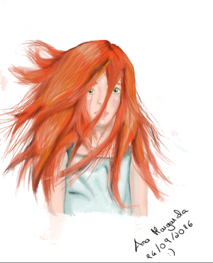 Girl with red hair :P by Magatita