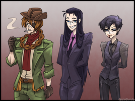 Hellsing Sketches by Sweathands