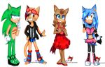 PC: Lazytancat75, PurpleFoxKinz, Amyrose116 by Coffee-Karin