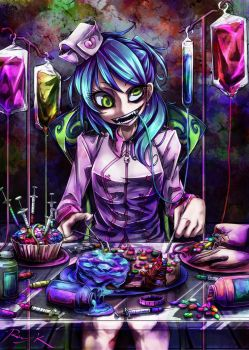 Drug-eating Operation by Ray-kbys