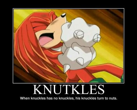 Knutkles by Mike3k9