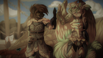 A successful Hunt! - .: Collab :. by Zeven-Dust
