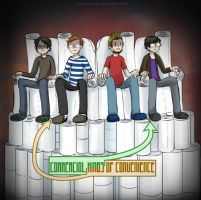 Commercial Kings Of Convenience by Chocoreaper
