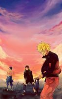 Naruto - end of the battle by ilaBarattolo